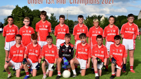Mid U13A Football Final Champions