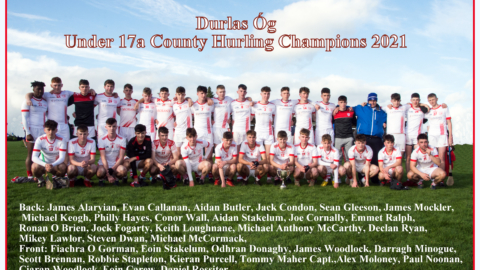 Under 17A County Hurling Final 2021